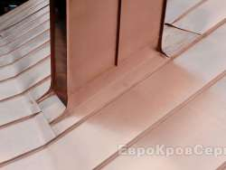 Монтаж медной фальцевой кровли (Боровский район) - ЕвроКровСервис