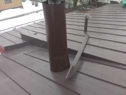 Ремонт кровли с заменой покрытия на двойной фальц