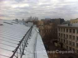 Замена фальцевой кровли на Спасской улице в Москве
