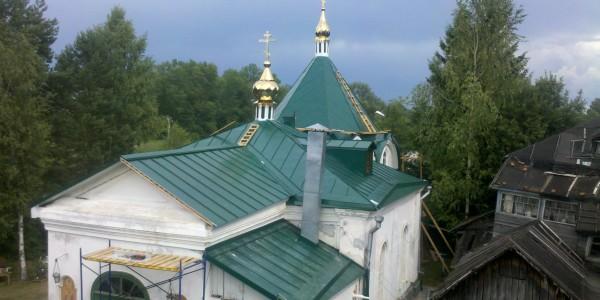 Православный храм в Завидово